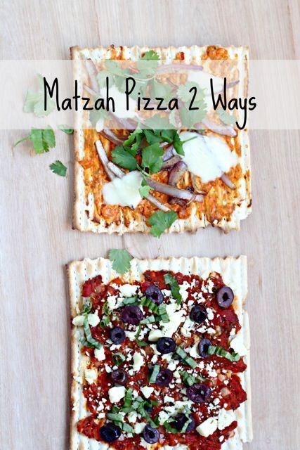 Matzah Pizza (Two Ways!) | Recipe