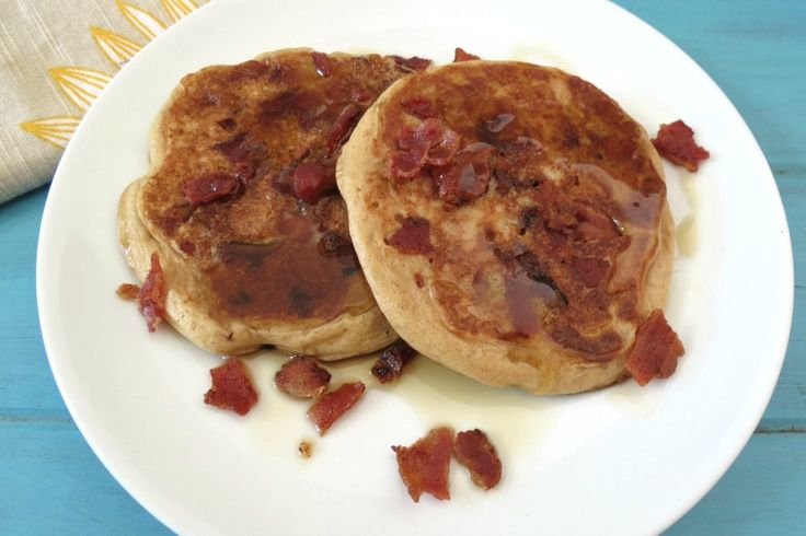 Maple Bacon Whole Wheat Pancakes | Recipe