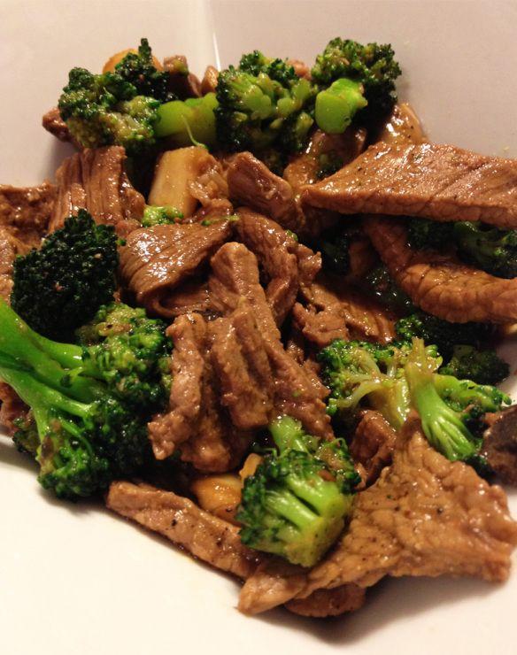 Broccoli & Beef | food | Pinterest