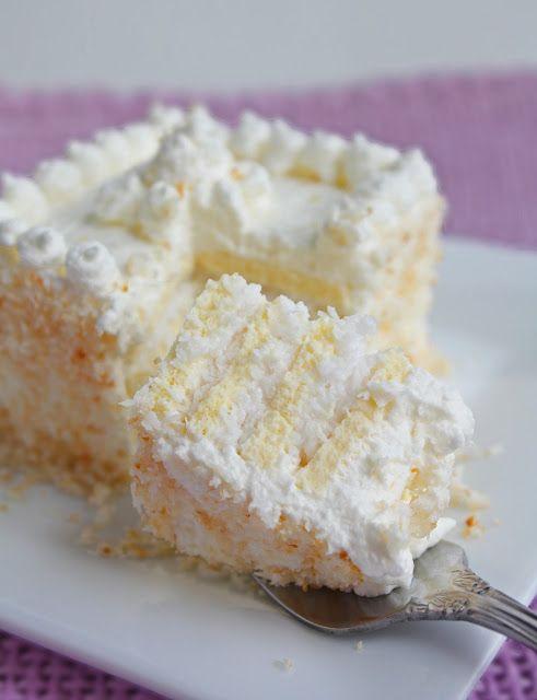 Low Carb Coconut Cream Cake