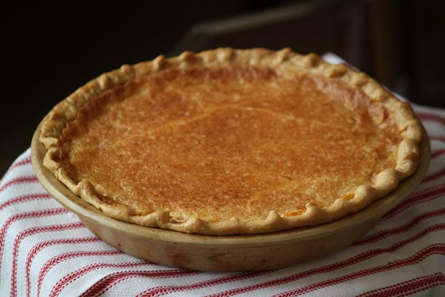 The Blackberry Vine: July 2010, Buttermilk Pie