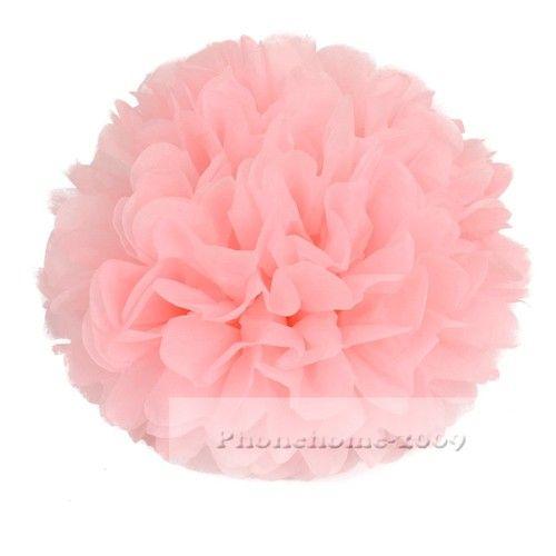 Paper Flower Balls For Wedding Tissue Paper Pom Poms Flower Balls Wedding Party Shower 8 10 12