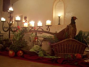 medieval banquet table - Google Search