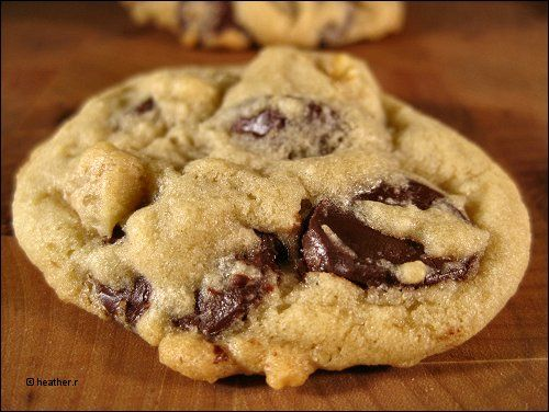 The Best Chocolate Chip Cookie Ever | Fatgirl | Pinterest
