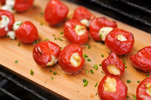 Planked Figs With Pancetta And Goat Cheese Recipe — Dishmaps