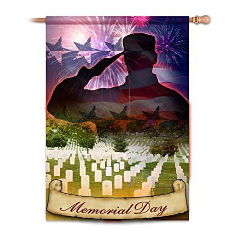 memorial day flag protocol