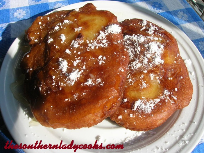 Fried Apple Fritters | Recipes | Pinterest