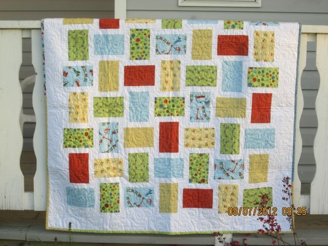 Big Print Patchwork Quilt Patterns For Large Scale Prints Party Invitations Ideas