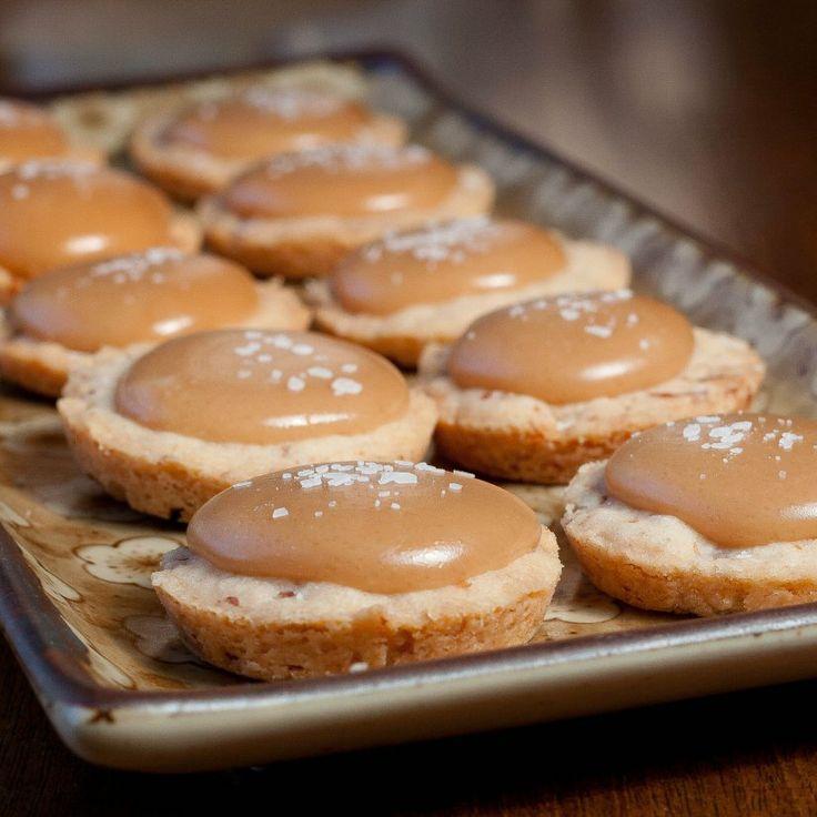 Salted caramel shortbread cookies | Baking! | Pinterest