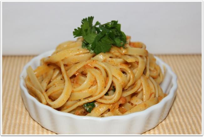 Tomato Cream Pasta Sauce - try to recreate the New Orleans Linguini ...