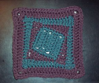 Optical Illusion Crochet Baby Blanket