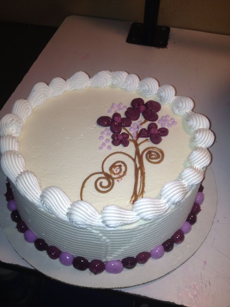Dairy Queen Design A Cake : DQ S cakes...Dairy Queen. Flowers Dairy Queen-DQ Pinterest