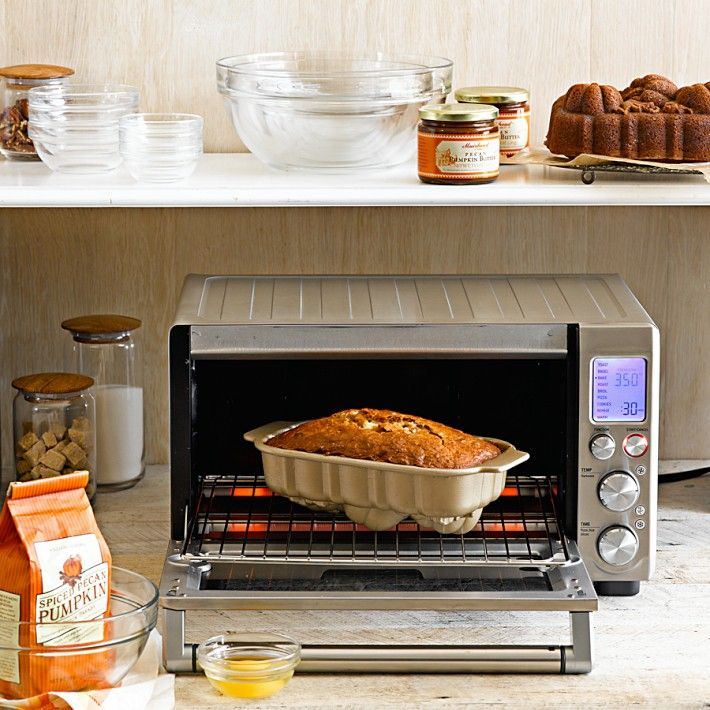 Breville Compact Countertop Smart Oven featuring the Spiced Pecan ...