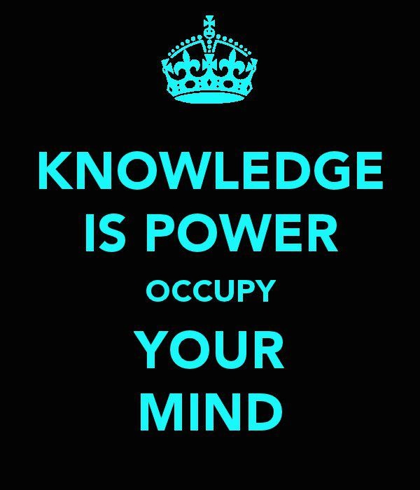 Quotes About Knowledge And Power Knowledge Is Po...