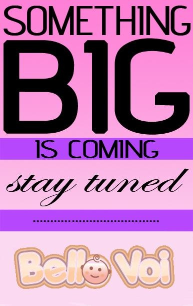 SOMETHING BIG IS COMING! LIKE US ON FACEBOOK NOW! https://www.facebook.com/BelloVoiStore