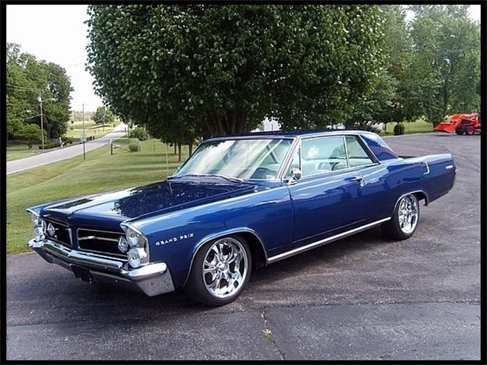 1963 Pontiac Grand Prix Check Out These Whips Pinterest
