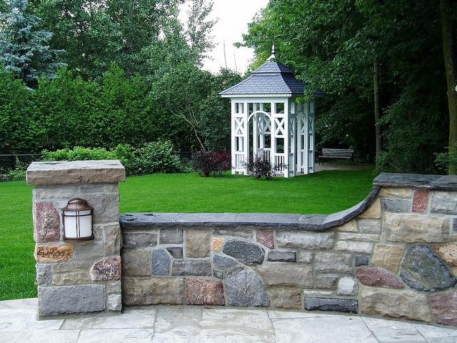 beautiful natural stone retaining wall Retainer Wall