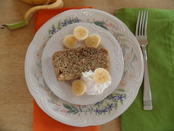 Quinoa Flour Zucchini Banana Bread | Breads and baked Goods | Pintere ...