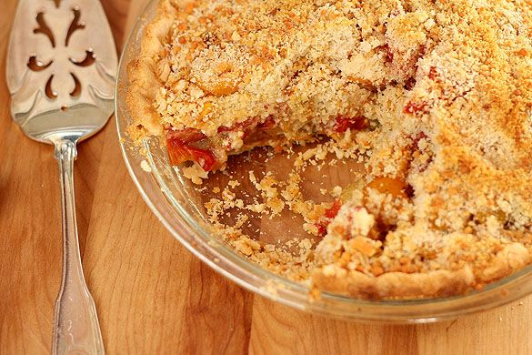 Fresh and Savory Tomato Pie | Recipe
