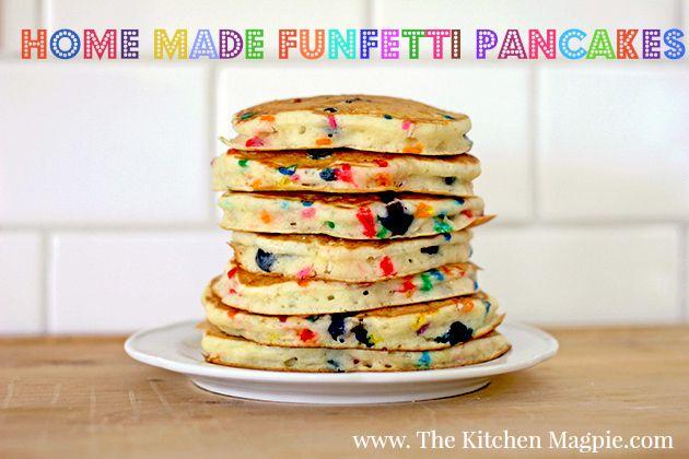 funfetti pancakes | yummy recipes | Pinterest