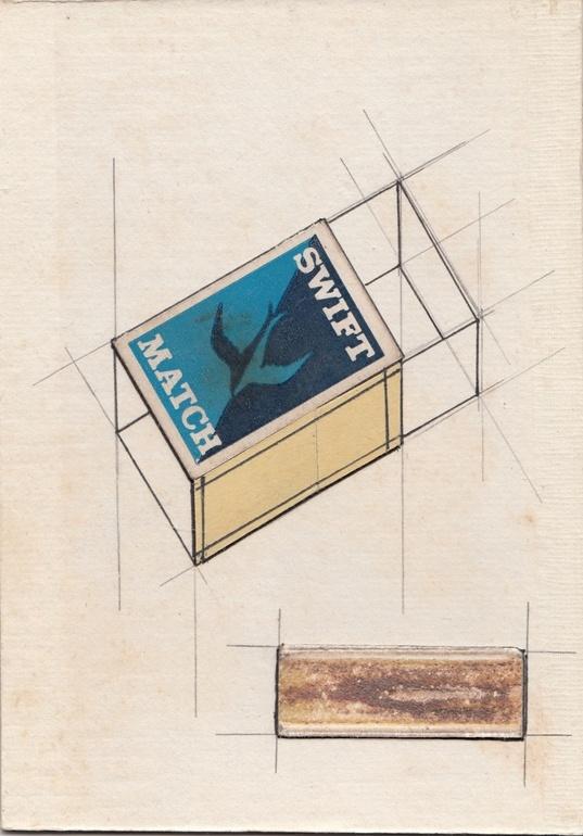 """Saatchi Online Artist: Ken Omom; Pencil, Drawing """"Composition Drawing Number SK94"""""""
