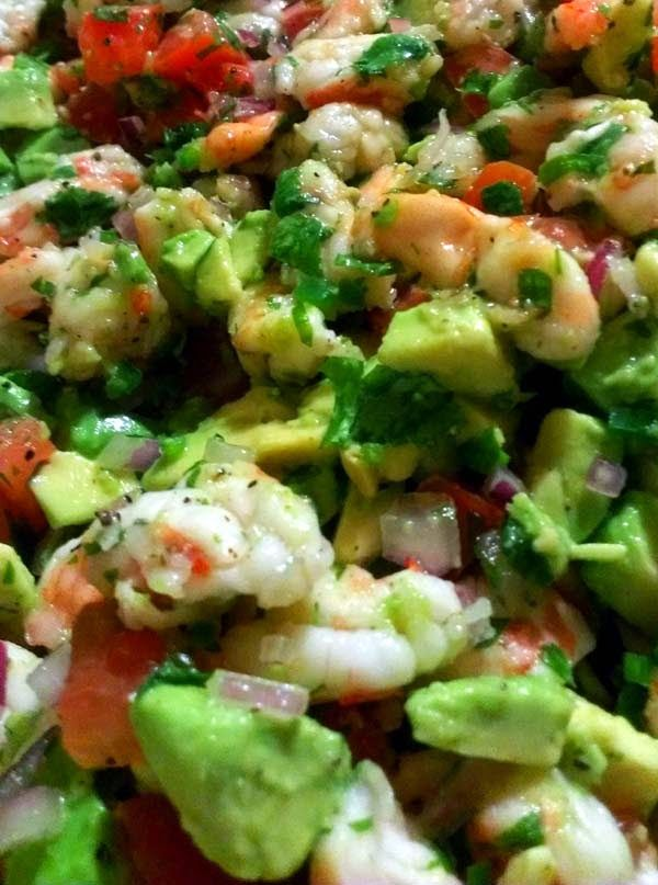 Mexican Ceviche with Avocado | Yummy food | Pinterest