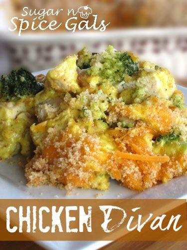Spice Gals: Chicken Divan | recipes | Pinterest