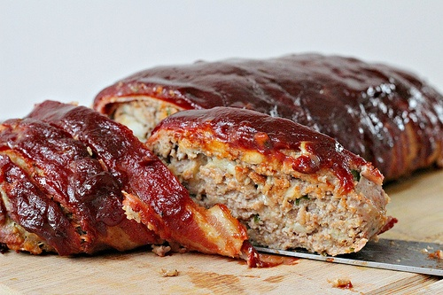 Bacon Wrapped Meatloaf | Yummy meat - beef | Pinterest