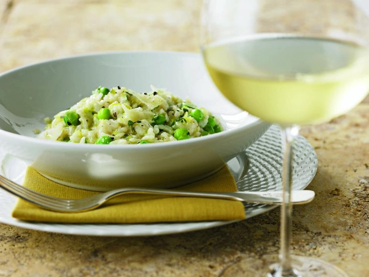 Wild Mushroom Risotto with Peas | Appetizers Salads Side Dishes | Pin ...