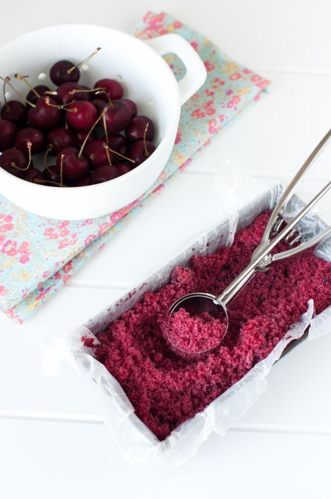 Cherry popsicles + granita | Very Cherry! | Pinterest