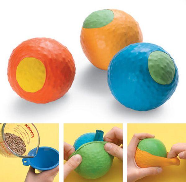 Мячики для метания своими руками 49