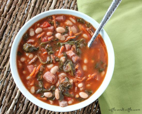 White Bean, Bacon And Spinach Soup Recipes — Dishmaps