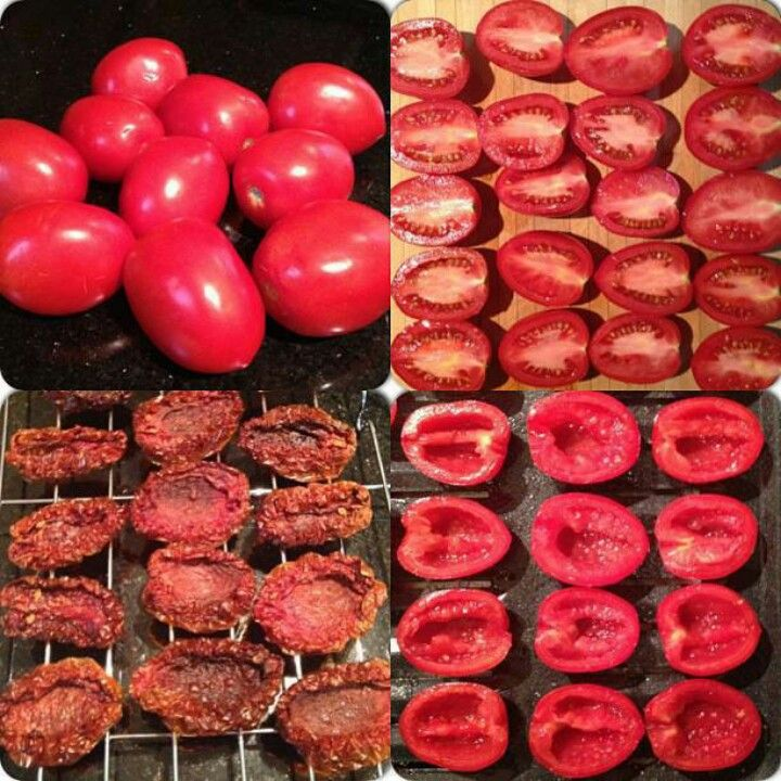 Homemade Sun Dried Tomatoes | Yummy to my Tummy!! | Pinterest