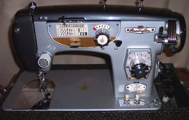 remington deluxe sewing machine