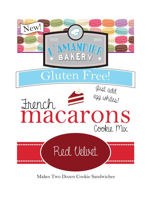 French Macaron Cookie Mix! Makes 24 Sandwich Cookies #macaron #