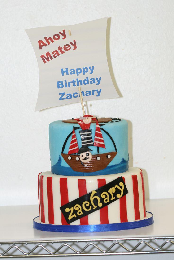 ahoy matey cakes
