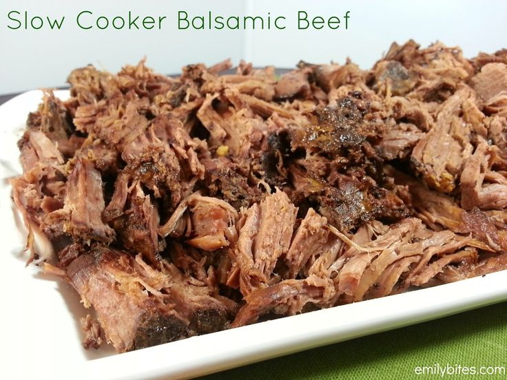 Slow Cooked Barbecue Beef | Recipe