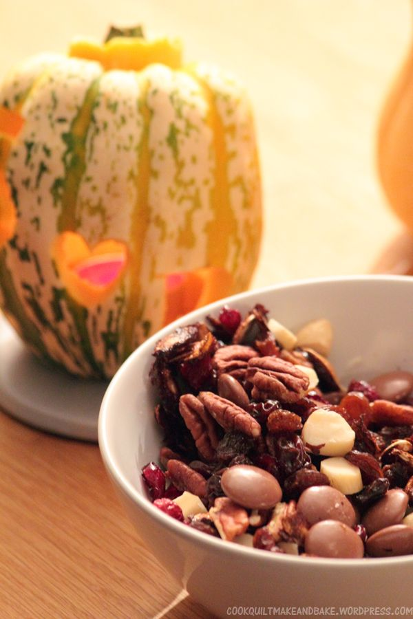 Halloween Mocha Pumpkin Seed Trail Mix | Blog: Cook and Bake ...