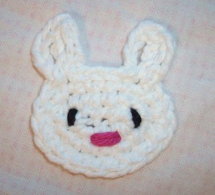 Bunny Applique | HodgePodge Crochet