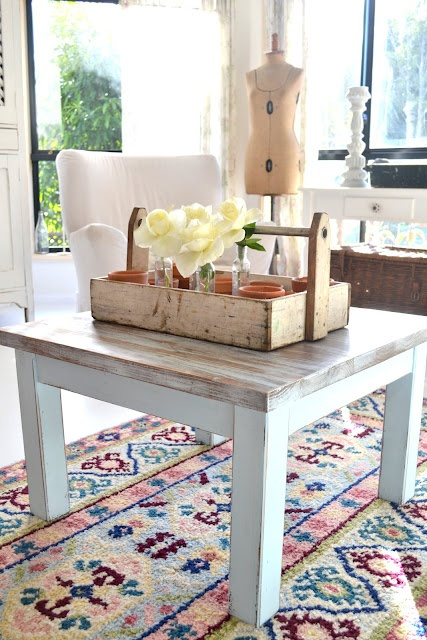 Paint Me White Beach House Coffee Table For The Home Pinterest