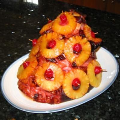 Baked Christmas Ham Recipe — Dishmaps
