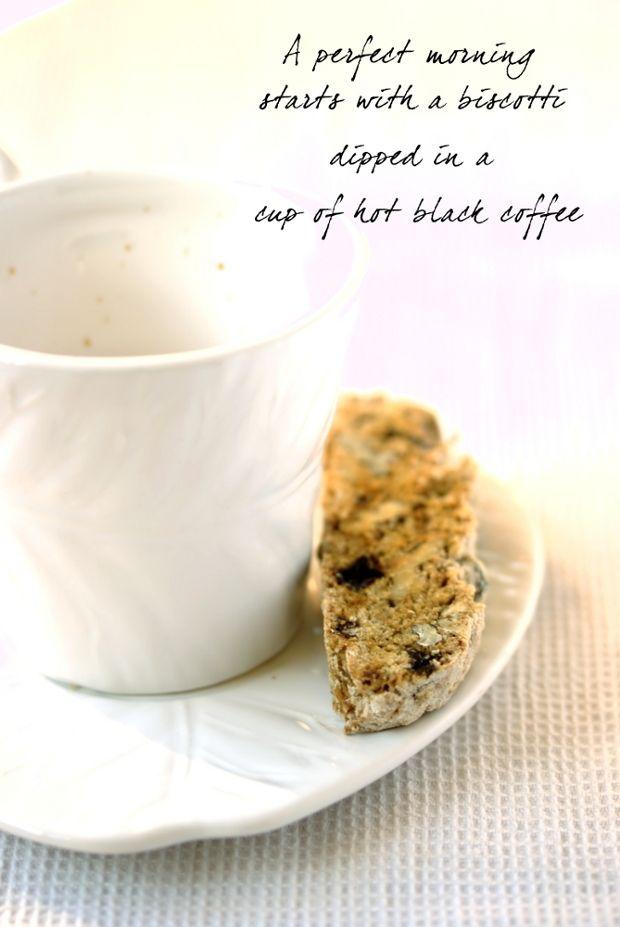 Walnut & Raisin Biscotti by Eat Me Blog | Breakfast Recipes | Pintere ...