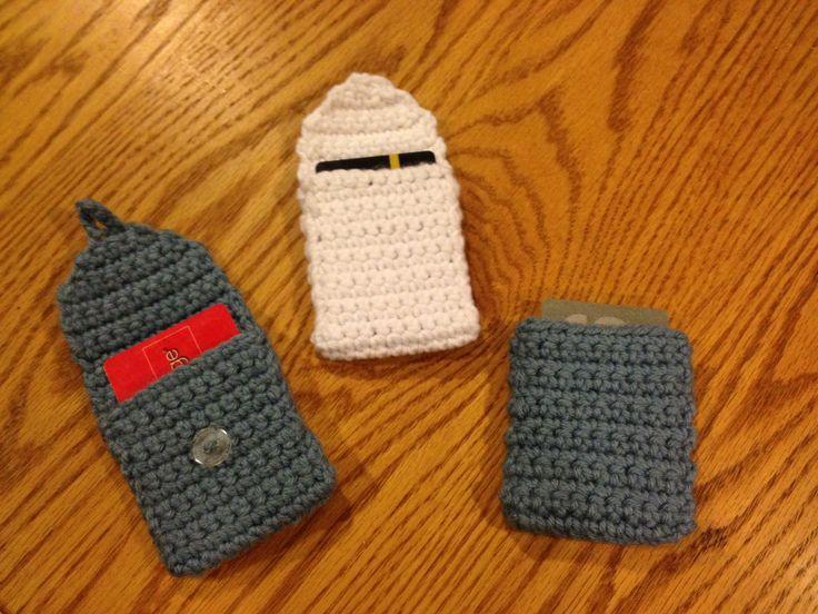 Crochet Gift Card Holder Pattern | I'm a hooker! | Pinterest