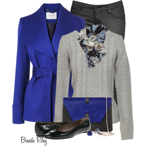 """L.K. Bennett Belted Coat"" by brendariley-1 on Polyvore"