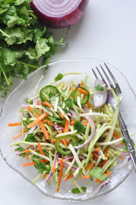 Spicy Lime Coleslaw Recipe — Dishmaps