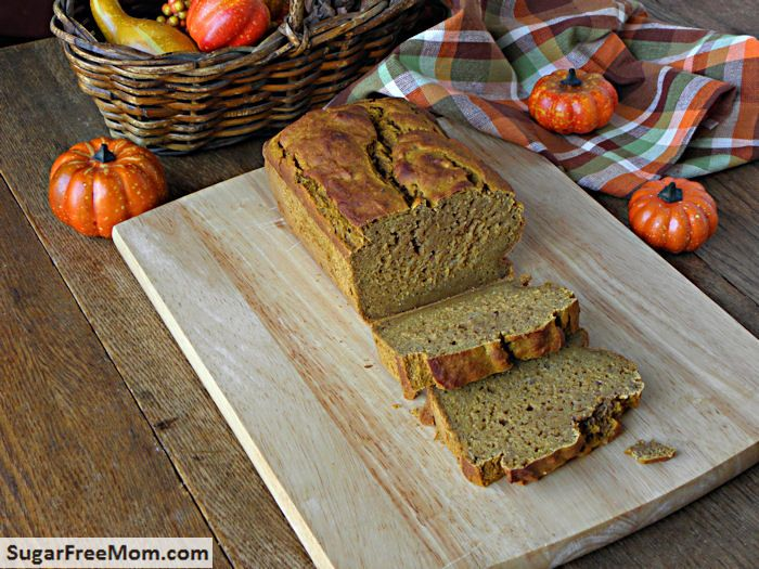 Gluten Free Pumpkin Banana Bread {No Sugar Added} -- also recommends ...