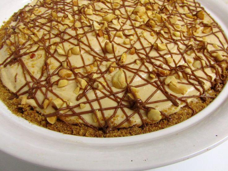 Peanut Butter Pretzel Pie   Recipes   Pinterest