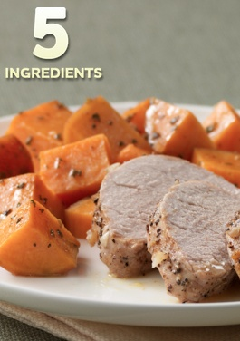Pork Tenderloin with Roasted Sweet Potatoes... Try preparing your next ...