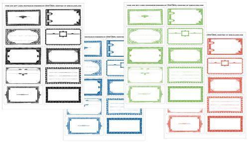Printable Canning Jar Labels   Food Storage/Gardening/Homesteading ...
