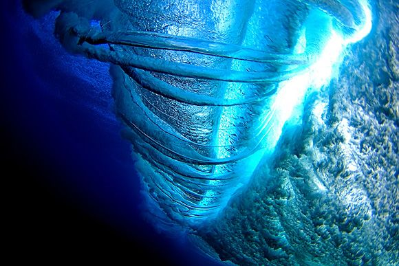 This is just about one of the best underwater surf photos we've seen! Photo by Brian Bielmann